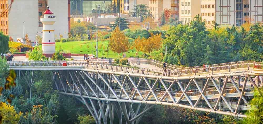 پل طبیعت بدون خودرو تهران