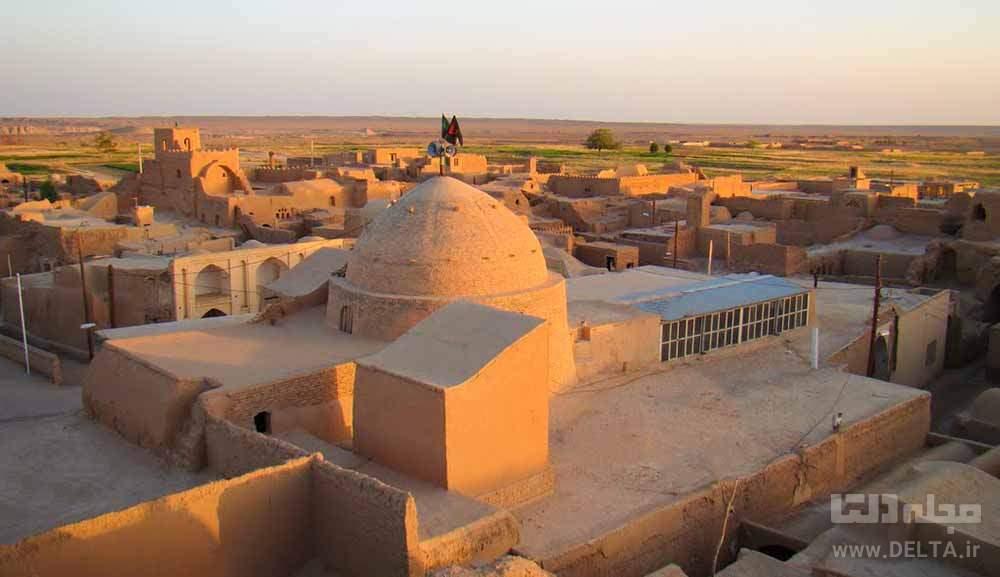 مسجد جامع جندق و روستای جندق خور