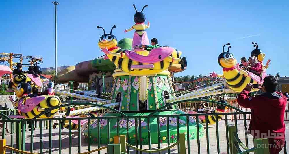 زنبور کوچولو شهر بازی اصفهان