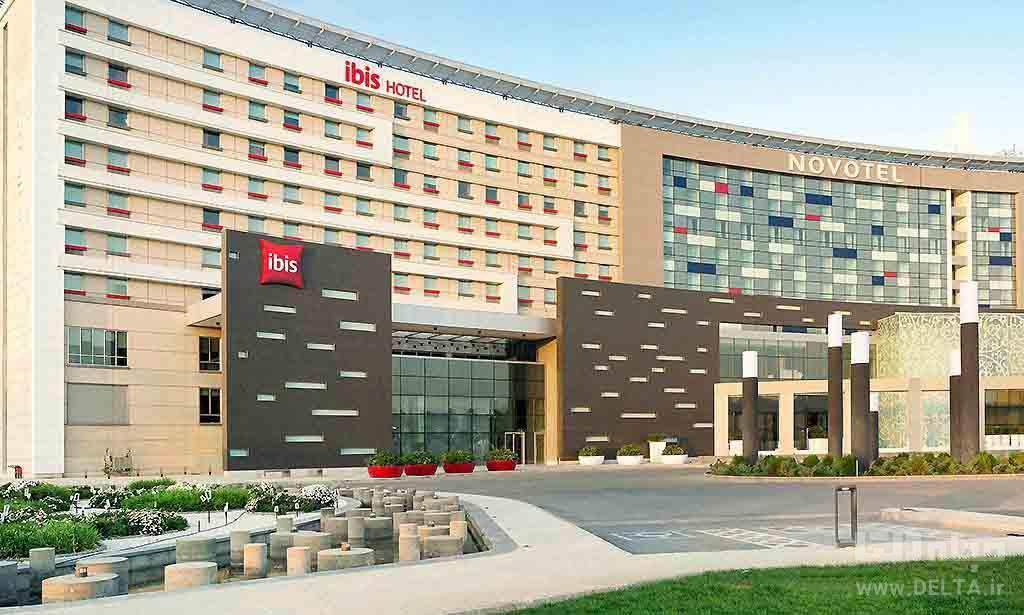 هتل نووتل و ابیس هتل های فرودگاهی