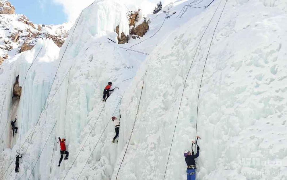 چطور به آبشار یخی برویم