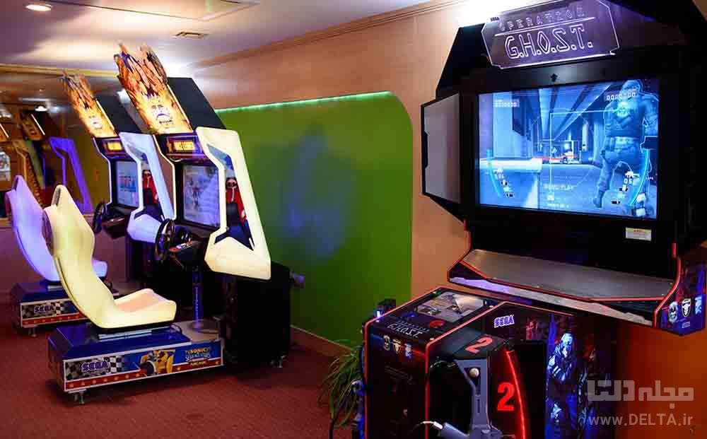 سالن بازی های کامپیوتری