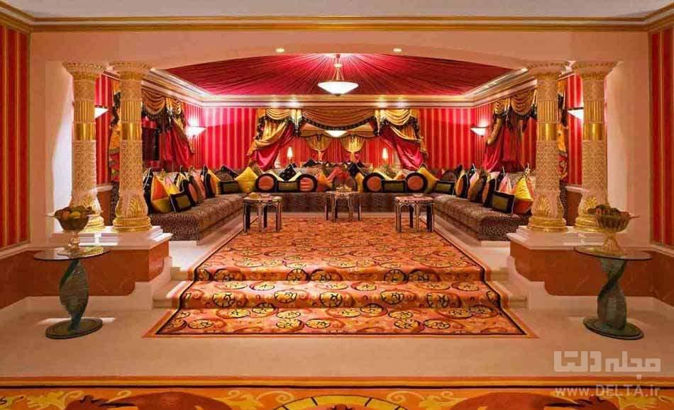 سوئیت رویال دو خواب هتل العرب