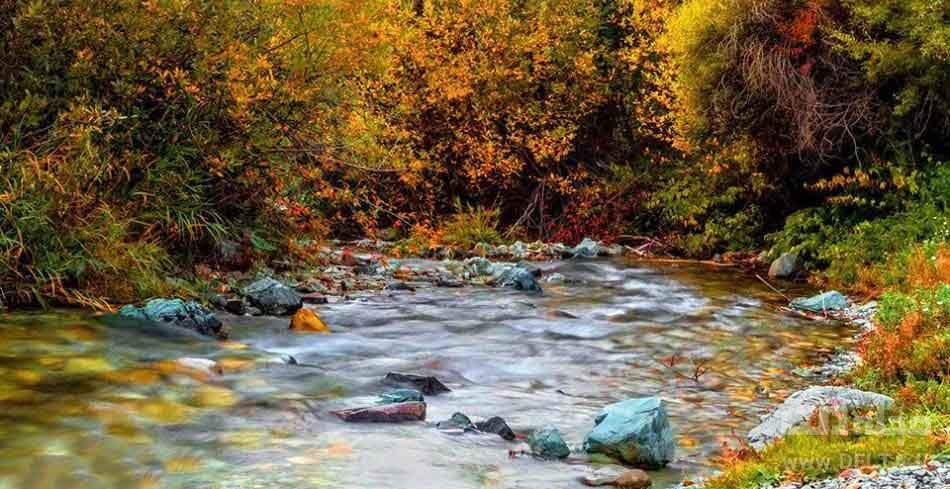 چشمه و رودخانه شهرستانک