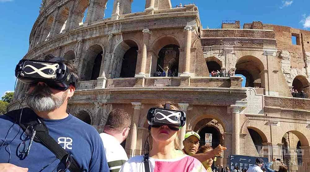 عینک های vr توریسم مجازی