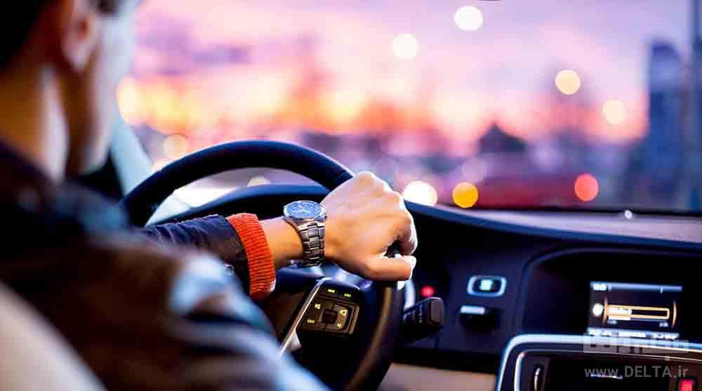 رانندگی در سفر