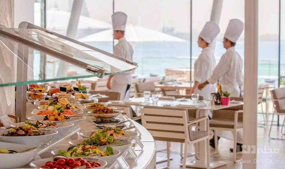 رستوران های بین المللی هتل العرب