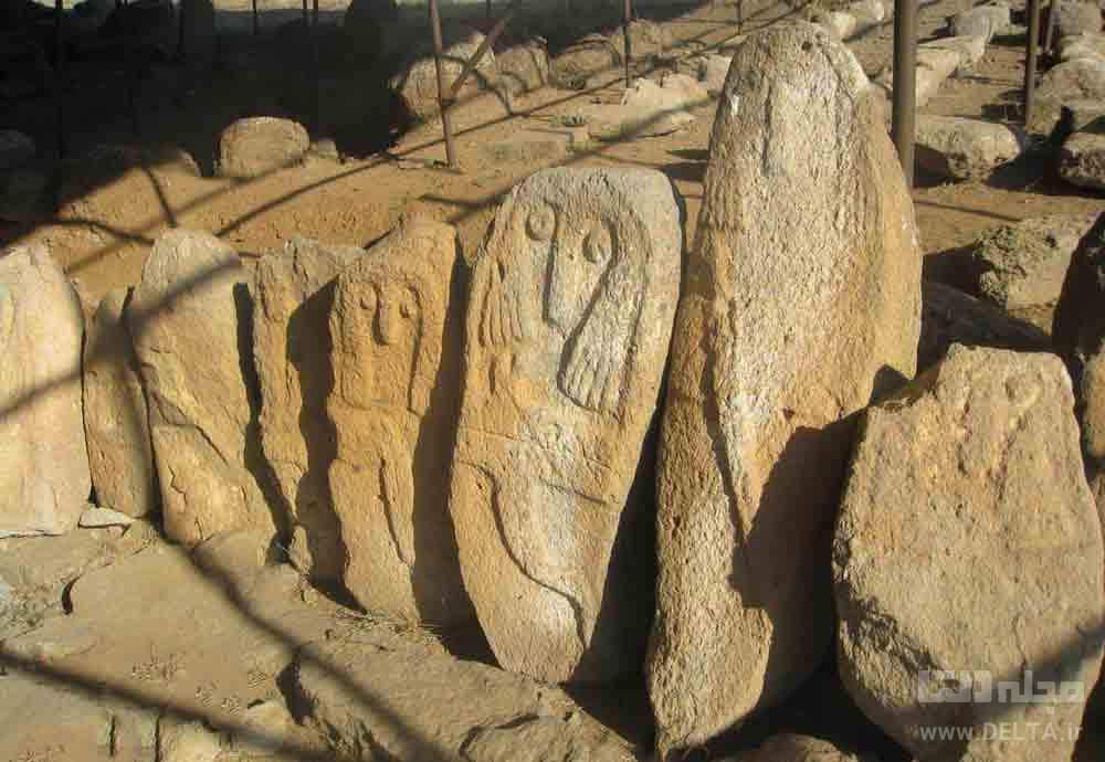 منطقه باستانی شهریئری دیدنی اردبیل