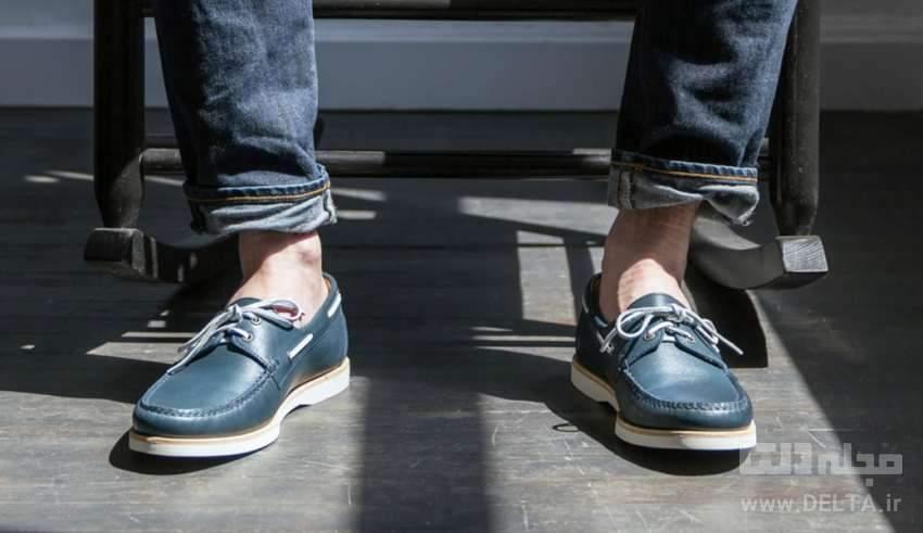 اشتباه در پوشیدن کفش مردانه