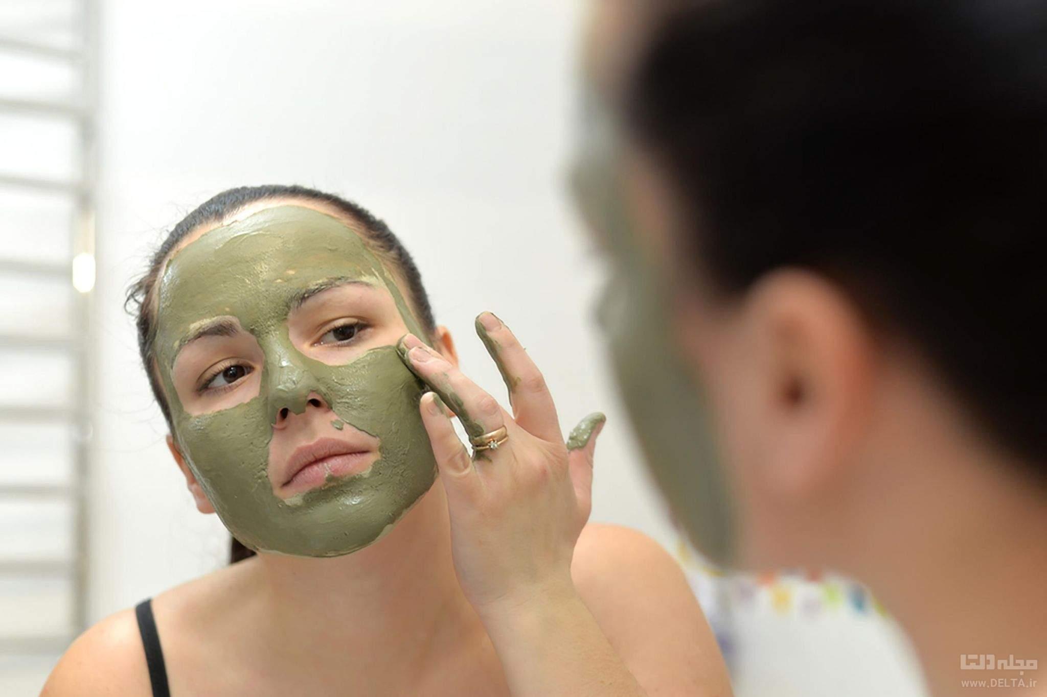 ماسك لايه بردار پوست