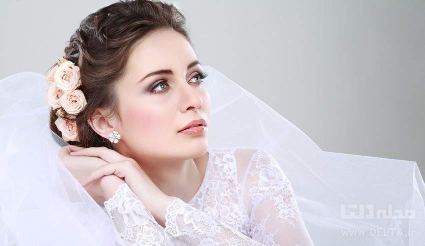 آرايش صورت عروس