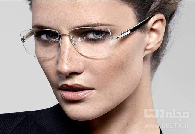 عینک بدون فریم