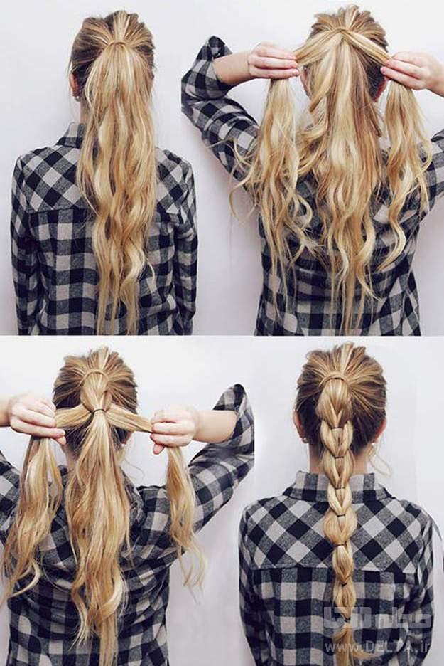 بافت موی بلوند