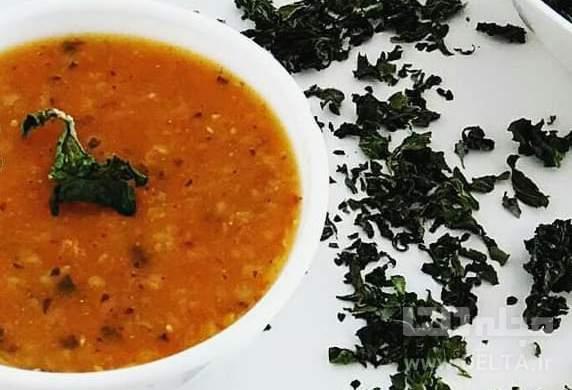 سوپ گندم ساده