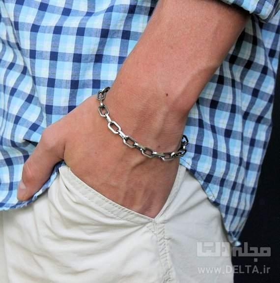 مدل دستبند طلا زنجيري ساده