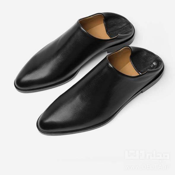 كفش چرم مردانه