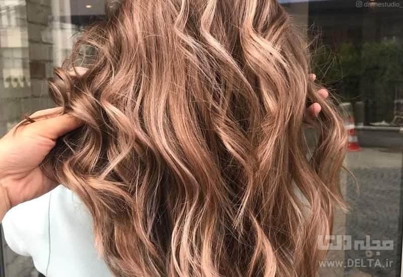 فرمول ترکیب رنگ موی نسکافه ای