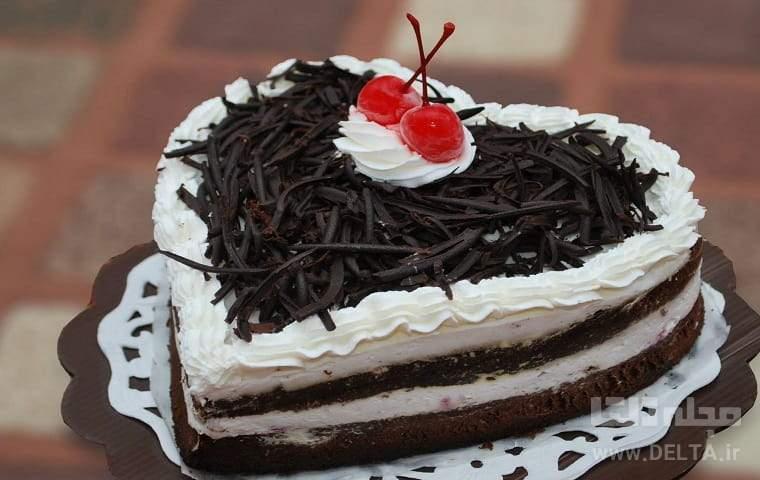 کیک بستنی مجلسی