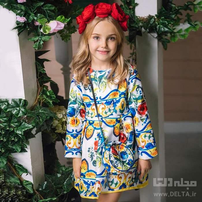 پارچه لباس بچه گانه دخترانه