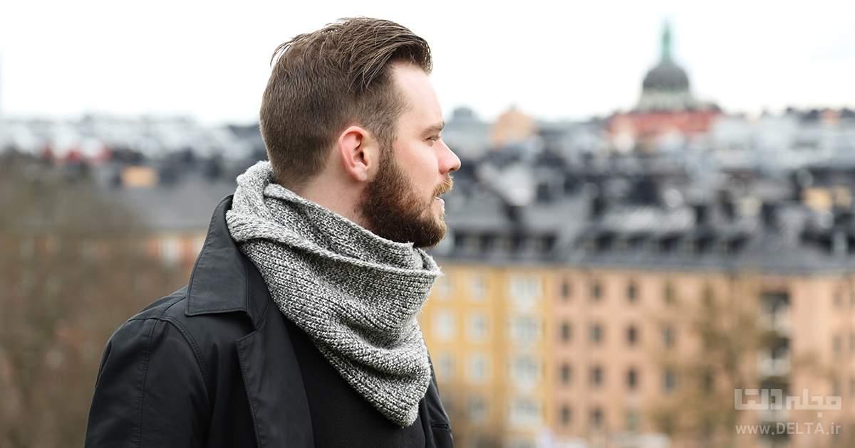 شال گردن مردانه مجلسی