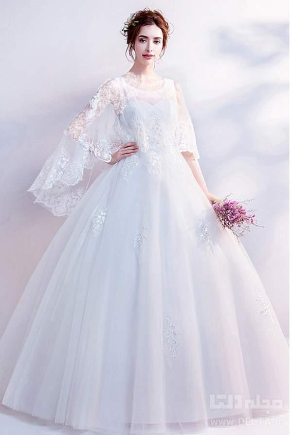 شنل شنل لباس عروس