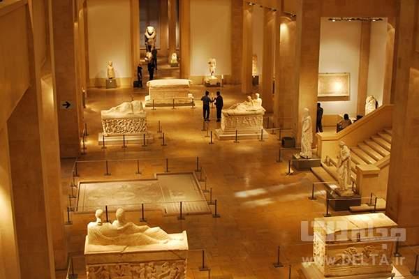 دیدنی های بیروت موزه ملی