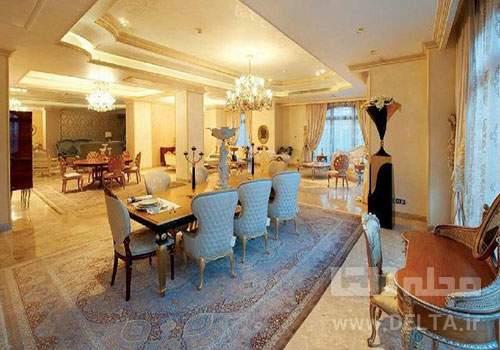 قیمت آپارتمان لوکس در تهران