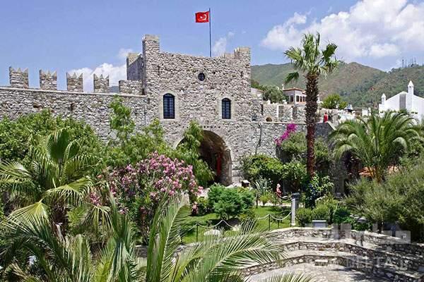 موزه و قلعه شهر مارماریس ترکیه
