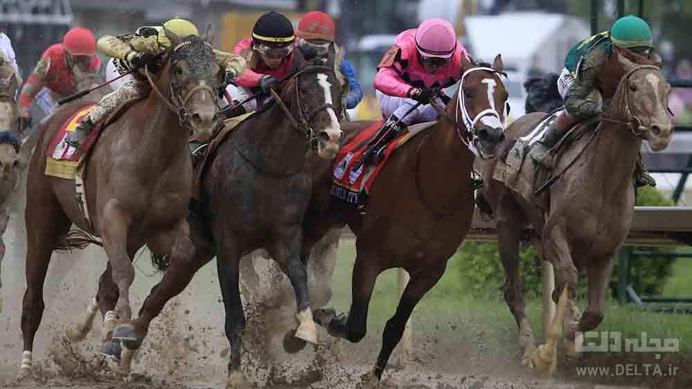 مسابقات اسب دوانی روستای قره قاشلی