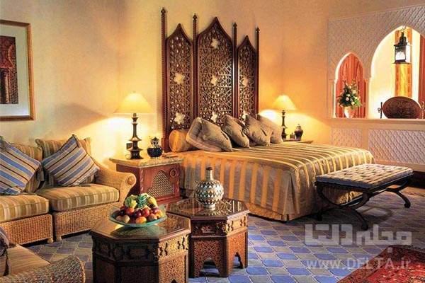طراحی داخلی به سبک هندی