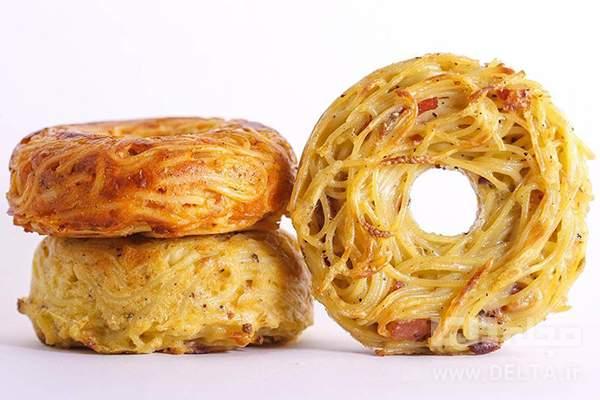 فینگر فود دونات اسپاگتی