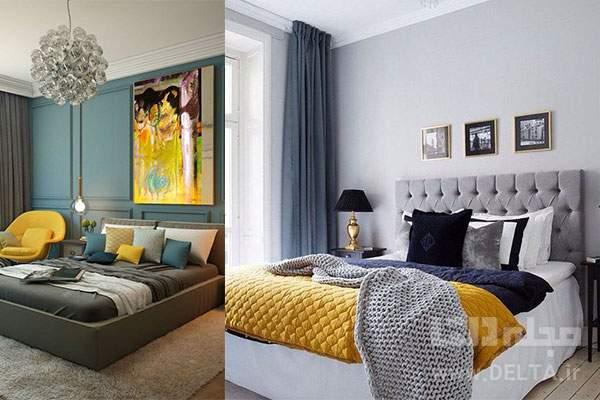 بهترین رنگ برای روتختی اتاق خواب