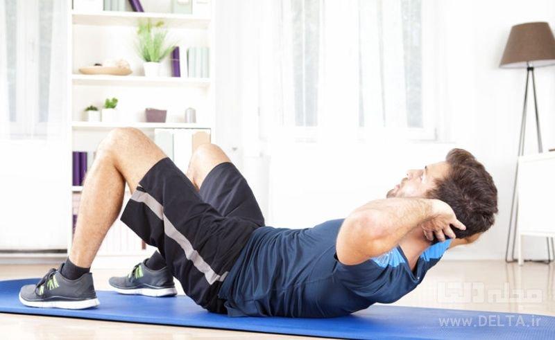ورزش در منزل   ورزش اصولی در خانه   ورزش در خانه   آمادگی جسمانی ...