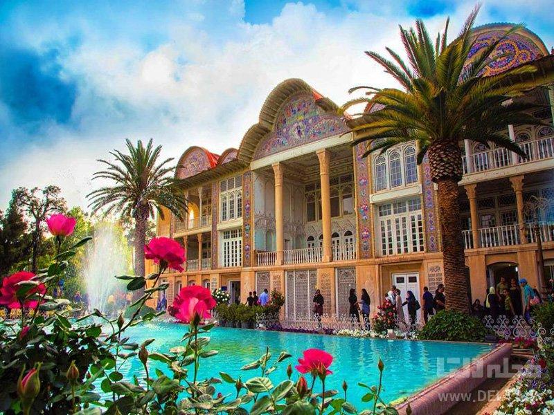 باغ ارم شیراز باغ های ایرانی