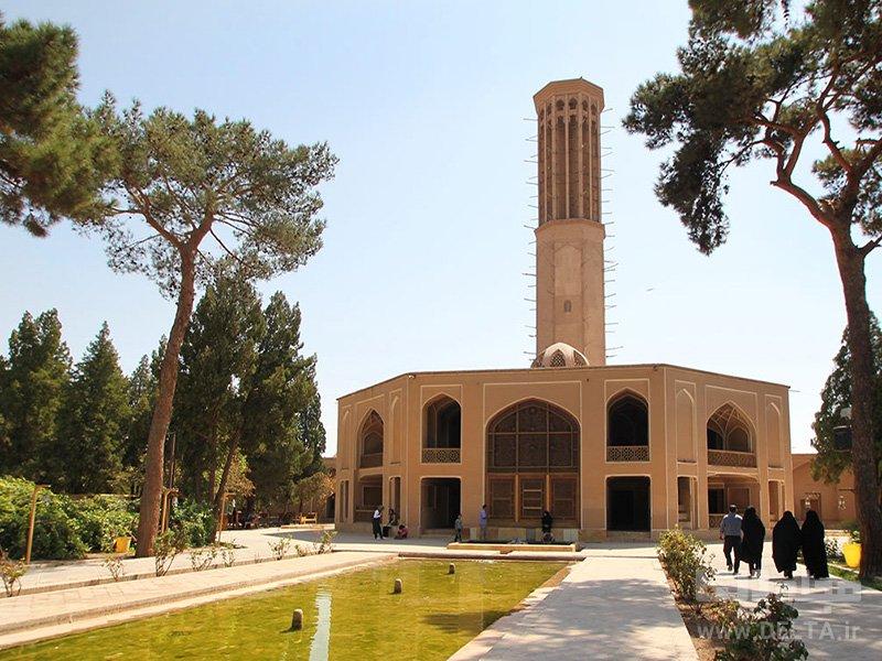 باغ دولت آباد باغ های ایرانی