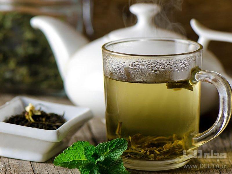 خوردن قرص با چای