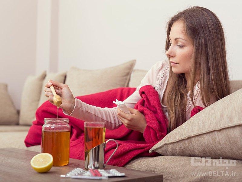 درمان گلودرد با عسل
