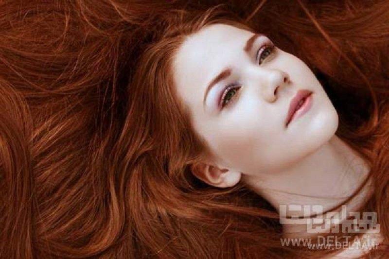 حنا برای موهای خشک