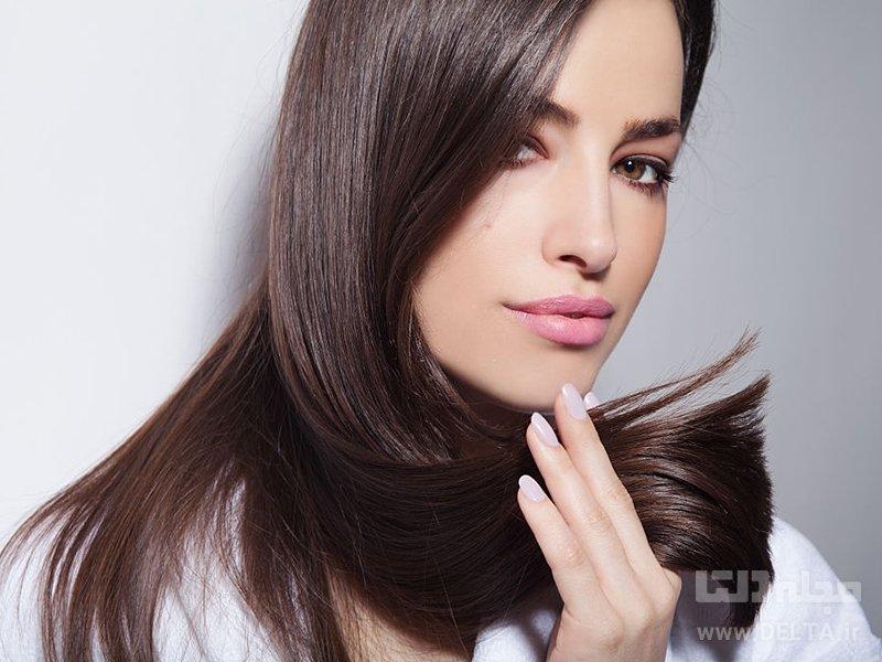 صاف شدن مو با شیر