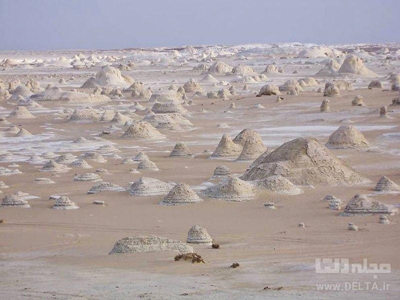 صحرای بیضاء مصر جاذبه های دیدنی مصر