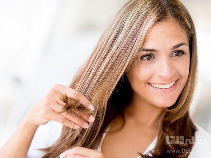 ماسک گیاهی برای صاف کردن مو