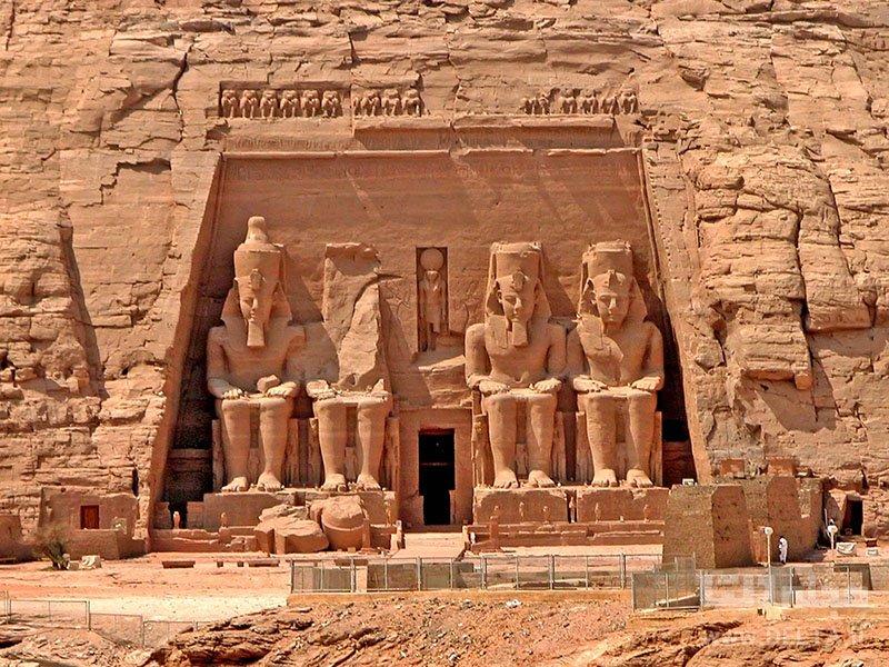 معبد ابوسمبل مصر