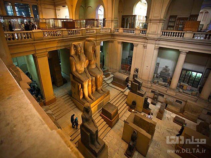 موزه مصر جاذبه های دیدنی مصر