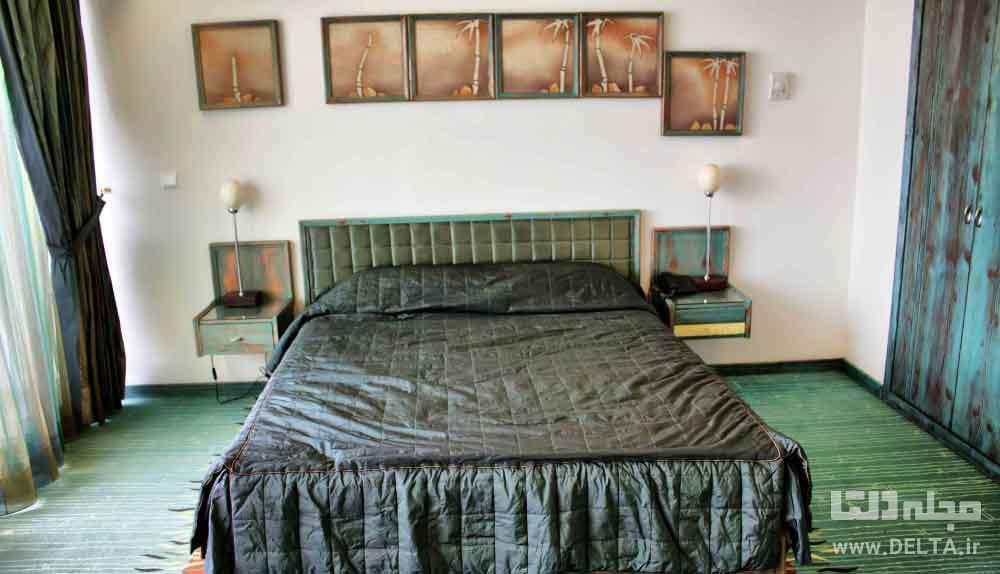 اتاق های هتل نارنجستان مازندران