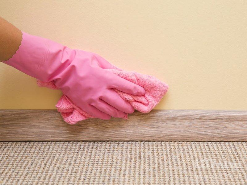 نحوه تمیز کردن کاغذ دیواری