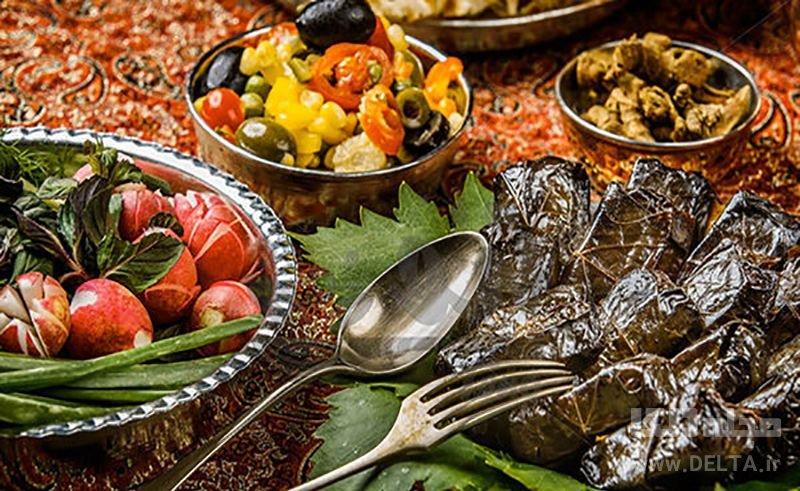 پخت دلمه تبریزی
