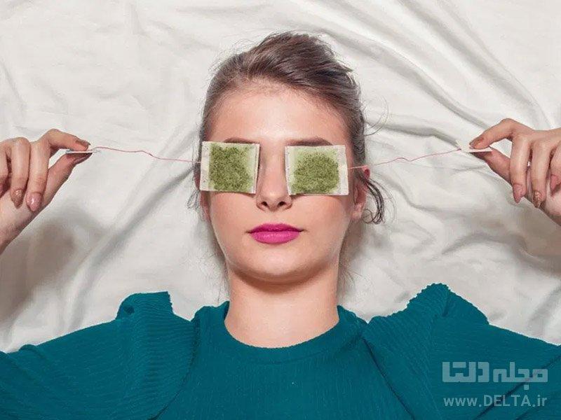چای کیسه برای عفونت چشم