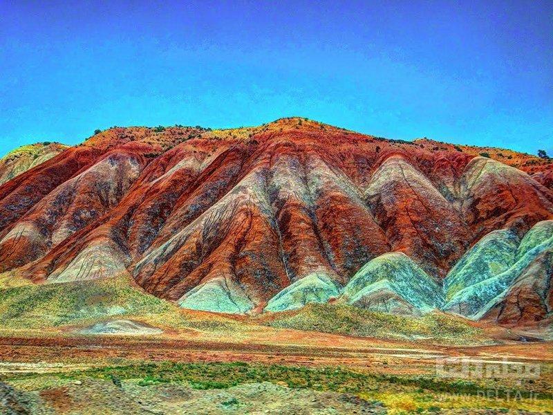 کوههای آلاداغ لار جاذبه های گردشگری عجیب