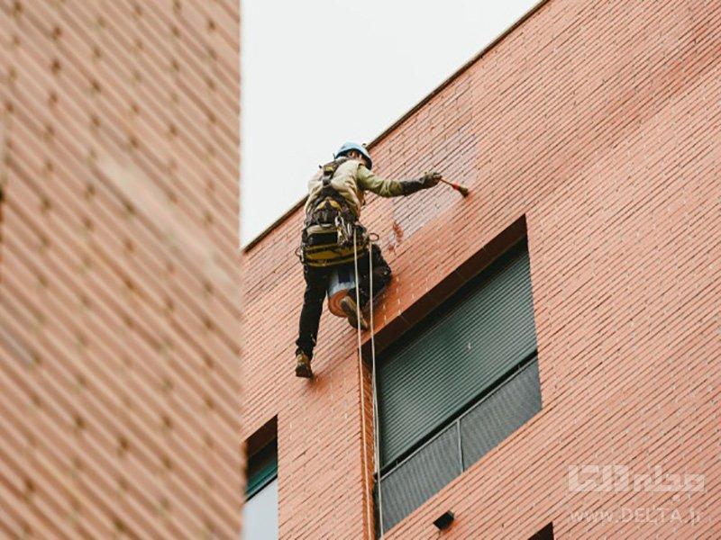 هزینه تعمیر نمای ساختمان و تراس