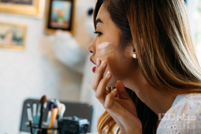 ترفندهایی برای آرایش صورت